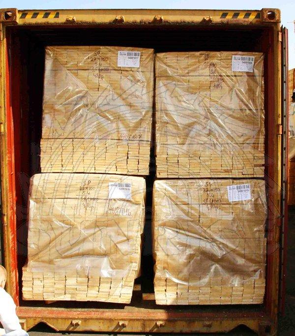 Экспорт пиломатериалов сухих